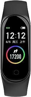 Rastreador de Ejercicios Pantalla táctil a Color, IP67 Impermeable Reloj Pulsómetro Presión sanguínea Monitor de Sueño Podómetro Pronóstico del Tiempo Bluetooth Reloj Inteligente