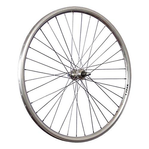 Taylor-Wheels 28 Pollici Ruota Posteriore Bici Euroline Ruota Libera Argento