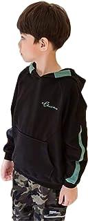 (ジャンーウェ)韓国系 子供服 パーカー スウェット キッズ 男の子 ジュニア 2019 春 スポーティー スポーツ カジュアル ゆったり プリント カッコいい