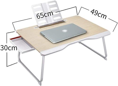 Table pliante ZB Table De Lit Ordinateur Portable Table Bureau Lit Dortoir Simple Enfants Apprenant Baie Fenêtre Bureau Conseil A+ (Taille   3)