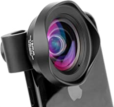Professional 16mm Wide Angle Mobile Phone Lens - 100 Degree DSLR Effect Phone Camera Lenses Compatible with iPhone Xs X 8 7 Plus Samsung s9