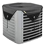 Bestalent Air Conditioner Cover for Outside Units Ac Cover Mesh 28 x 28 inches