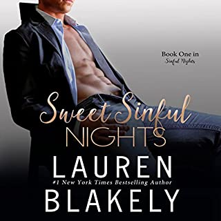 Sweet Sinful Nights audiobook cover art