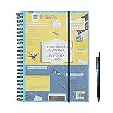 Finocam 5340001 – Quaderno del docente, formato 230 x 210 mm, l'Organizzazione completa per gli insegnanti di oggi + regalo