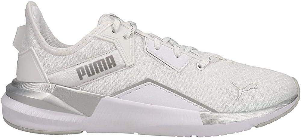 PUMA Womens Max 59% OFF Platinum Metallic Training supreme C Sneakers Shoes
