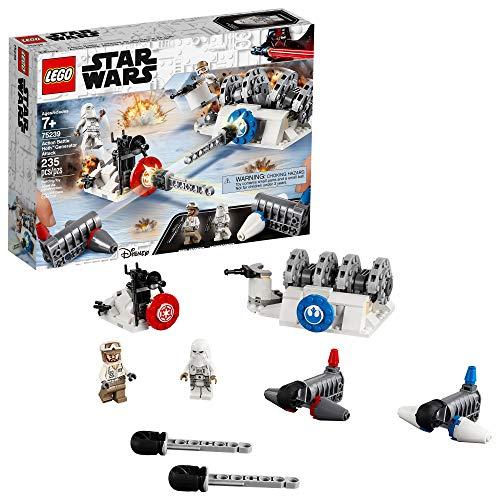 LEGO Star Wars: The Empire Strikes Back Action Battle Hoth Generator Attack 75239 Kit de construcción (235 piezas)