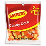 Sathers Candy Corn Bag 85g/3oz x3 Bags