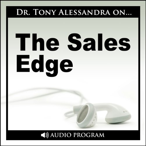 Alessandra on…The Sales Edge audiobook cover art