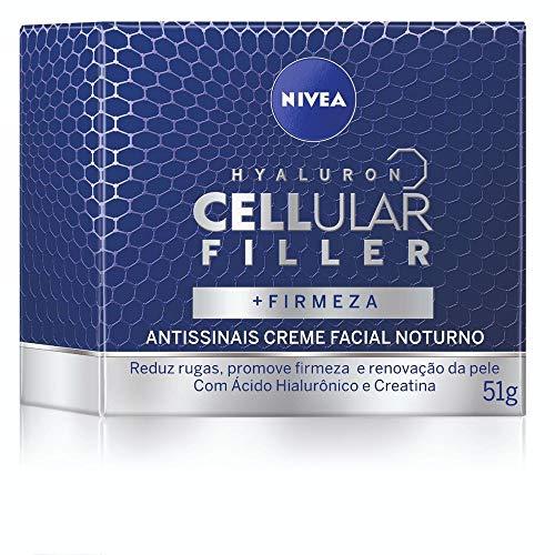 Creme Facial Antissinais Noite Nivea Cellular 50Ml, Nivea