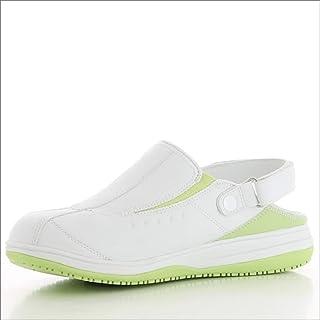 Oxypas Ladies Iris Safety Shoes, Green UK 6,5 EU 40