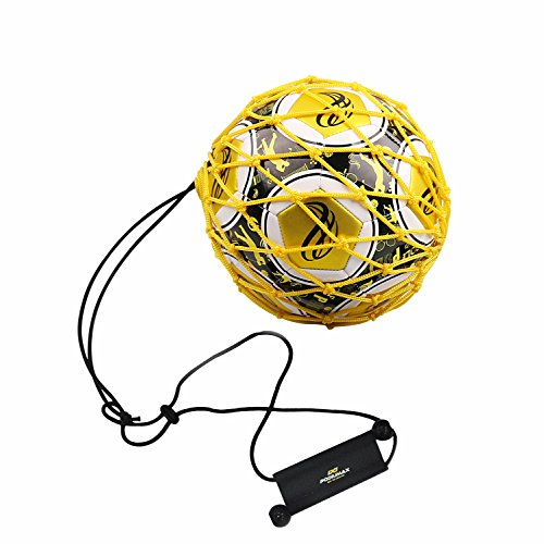 PodiuMax Handle Solo Soccer Kick Trainer with New Ball...