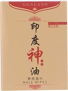 aceite esencial natural capacidad de mejora masculina 1 unidad prolongado sexual KunmniZ Toalla de papel de seda placer