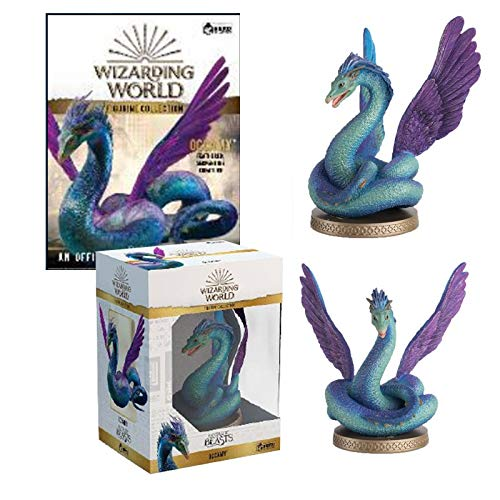 FANTASTIC BEASTS- Wizarding World Collection Animales Fantásticos Figura de Resina de Occamy, Color (EAMOWHPUK005)