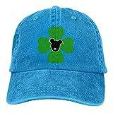 RFTGB Gorras Unisex Accesorios Sombreros Gorras de béisbol Sombreros de Vaquero How Are Ya Now Denim Baseball Cap, Unisex Vintage Dad Hat, Golf Hats, Adjustable Plain Cap