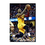 WALKKING WAYS Wall Canvas Art Paintings for Wall Decor?Lakers Lebron James Supper Slam Dunk Basketball Pictures Wall Decoration Prints and Posters (Not Framed,40x60 cm)