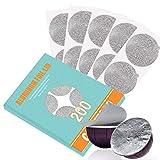 Tapas de papel de aluminio CAPMESSO para reutilizar las cápsulas de café Vertuoline, compatibles con la máquina Nespresso VertuoLine de 64 mm (100 / paquete) (200)