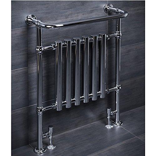 ENKI handdoekhouder radiator 963x673mm traditionele badkamer centrale verwarming