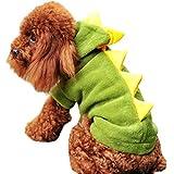 Frashing Haustier Kostüm für Hund Katze Hundepullover Dinosaurier Overall Anzug Jacke Hundemantel...