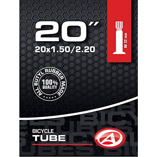 Author fiets binnenband 20 inch AV autoventiel 32 mm 32-57 406 aanhanger kinderfiets