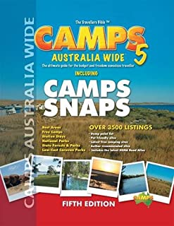 Camps Australia Wide: The Ultimate Guide for the Budget Conscious and Freedom Traveller Including Camp Snaps - HEMA.A.12