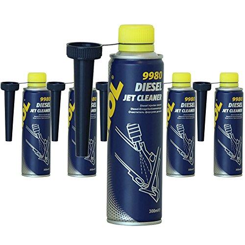 MANNOL 6 x 300ml 9980 Diesel Jet Cleaner/Diesel Einspritz System Reiniger Zusatz