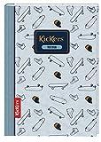 Oberthur Collection KICKERS - 1 cuaderno de texto (tapa de cartón rígido, 15,5 x 22 cm)