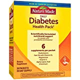 Nature Made Diabetes Health Pack with EPA and DHA, 30 Day Supply