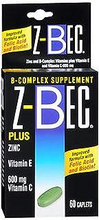 Z-BEC Caplets, 60 Count