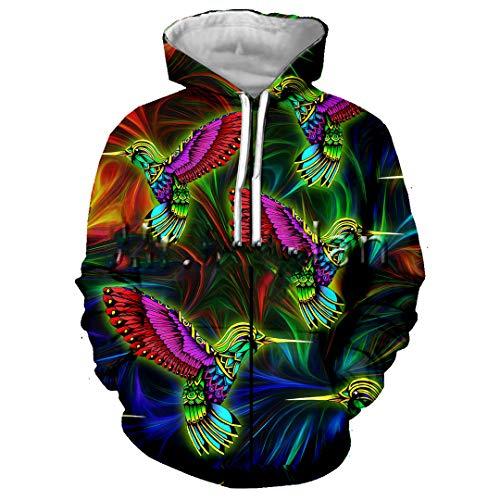 Colorful 3D Full Printed Jacket Men/Women Hoodie Unisex Casual Streetwear Sweatshirt Pullover Zip Hoodies Asian Size 4XL