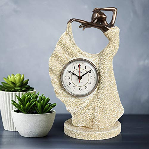 Dark Dragon Mantel Clocks Table Living Room Office Home Statue Decorate Present for Friend Kid Boss Colleague Student Adult