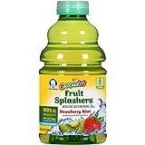 Gerber Graduates Fruit Splashers Juice, Strawberry...
