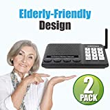 Wireless Home Intercom Systems, Sanzuco 1 Mile Long Range Room to Room Communication, Best for in-Home Caregivers for...