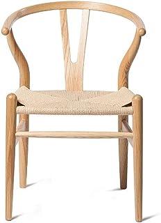 YUMUO Sillas de Comedor Asiento y Respaldo de Madera Suave con Patas de Madera Sillas de Cocina Resistentes para sillas de Comedor y Sala de Estar