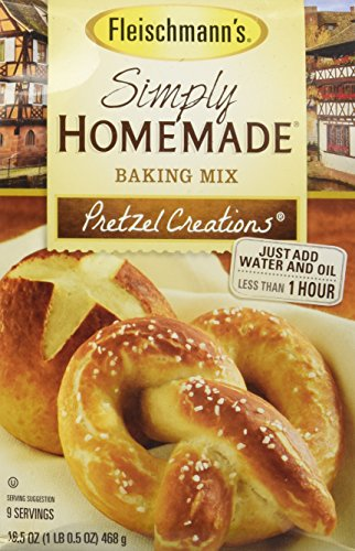 Fleischmann's Simply Homemade Baking Mix Pretzel Creations 16.5 oz