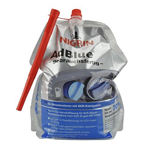 NIGRIN 73999 AdBlue Standbeutel, gebrauchsfertig, 5 Liter