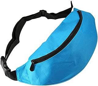 BEESCLOVER Outdoor Sport Running Hiking Bum Bag Woman Man Fanny Pack Travel Handy Waist Bag Money Belt Zip Pouch Wallet Plain