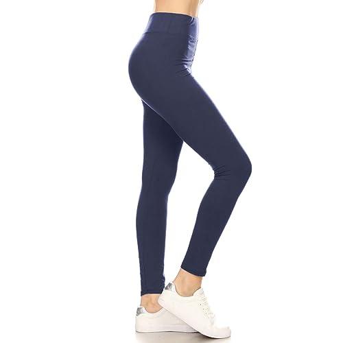 6885816cd6b8b Leggings Depot High Waisted Leggings -Soft & Slim - 37+ Colors & 1000+