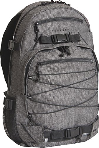 FORVERT Unisex Bag New Louis sportlich-lässiger Daypack mit durchdachter Ausstattung im spannendem Materialmix, grau (Flannel Grey)