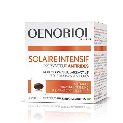 Oenobiol solar intensivo preparador capital juventud, suplemento alimentario, preparador solar, primeros signos visibles de la edad, 30 cápsulas