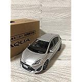 1/30 トヨタ 新型アクア カラーサンプル ミニカー 非売品 シルバーメタリック
