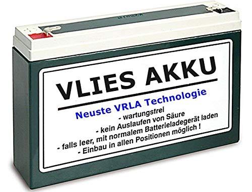 6V Vlies Batterie 12 Ah Akku Wartungsfrei für Simson inkl.7,50EUR Pfand