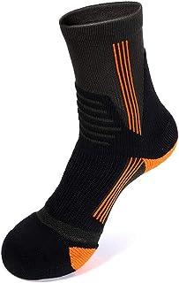 Calcetines de Invierno para Hombres Profesionales Calcetines para Caminar, Calcetines de Viaje Transpirables de Secado rápido de Alto Rendimiento de Punto cálido (Color : B(3pairs), tamaño : M)