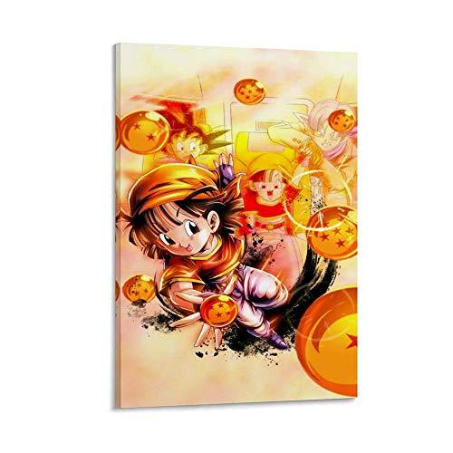 Pan-Dragon Ball Gt - Póster decorativo para pared, diseño moderno de la familia de la habitación, 30 x 45 cm