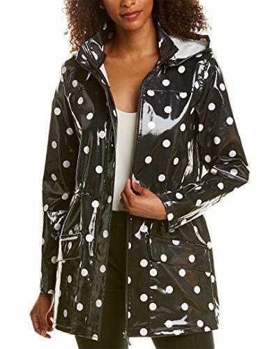 Elie Tahari Womens Trish Coat, Xl, Black