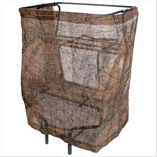 Allen Company Quick Set Blind Rig, Ground Hunting Blind, 50 x 96 inches - Mossy Break-up Country