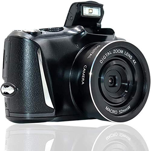 Mengen88 Cámara Digital Vlogging Camera, 24MP Ultra HD Camera Cámara Digital compacta con Zoom óptico con Pantalla de 3,5 Pulgadas y Flash, Compatible con Foto Continua