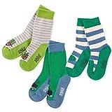 SIGIKID Baby Mini - Mächen & Jungen Sockenset mit kindlichen Mustern/Motiven, 3er-Pack , Größe 16/18 - 31/33
