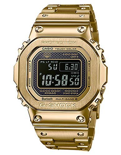 G-Shock By Casio Men's Digital GMWB5000GD-9 Watch Japan-Automatic Stainless Steel Gold