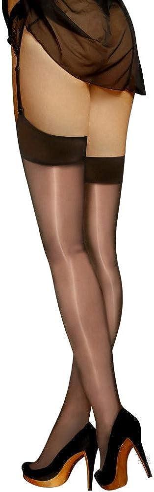 Vidrio Glossy Shiny 15 Denier Stockings by Cecilia de Rafael