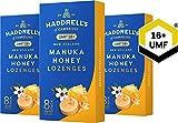 Haddrell's Manuka Honig Lutschbonbons 3er Pack MGO 550+
